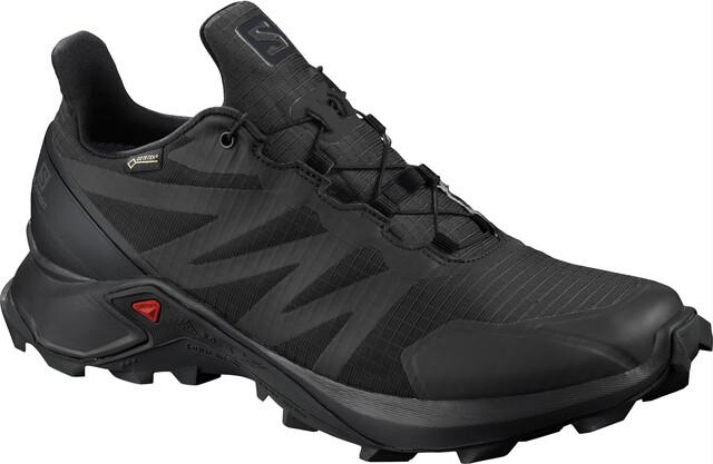 ChaussuresHomme Supercross Salomon Gtx Black rQxtCshd
